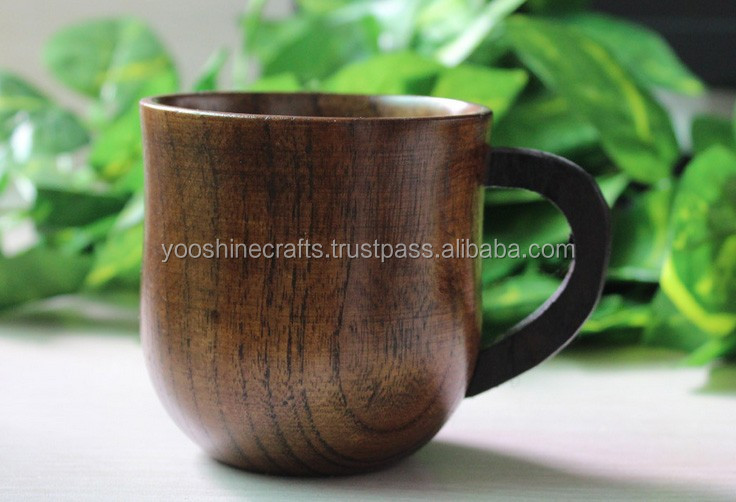 D7.5cm Wooden wine cup, coffee cup, Japanese style cup