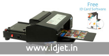 Semi Automatic PVC ID Card Printer