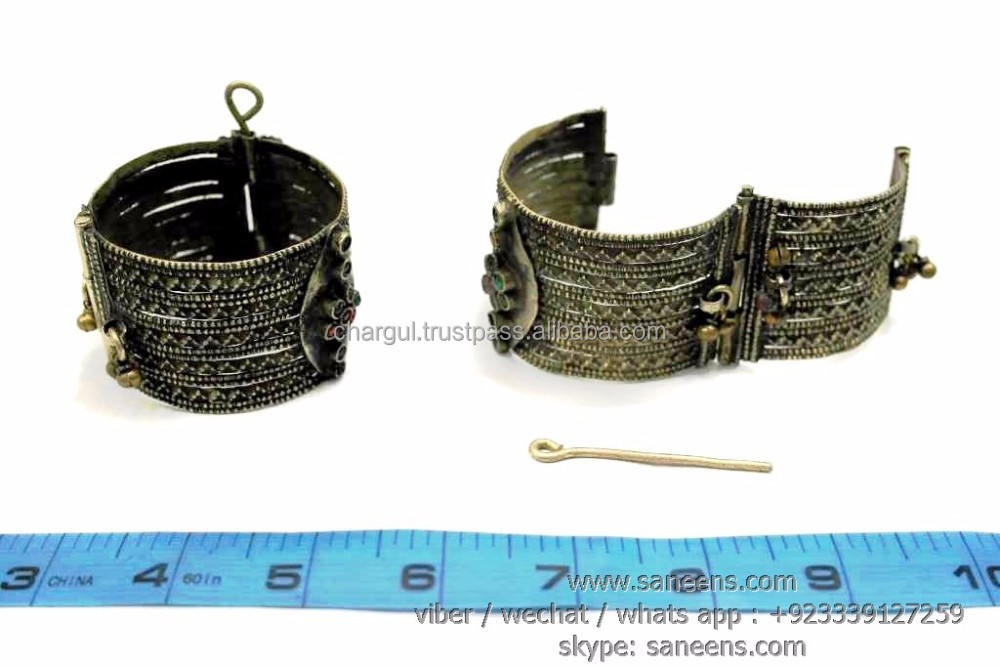 berber fashion vintage bangles afghan brides ethnic jewelry bracelets belly art dance performing cuffs wholesale lot deal online