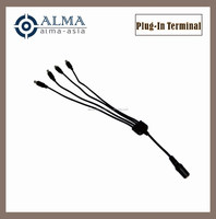 1 for four power supply cable