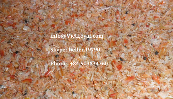DRIED SHRIMP SHELL MEAL Prawn meal FEED