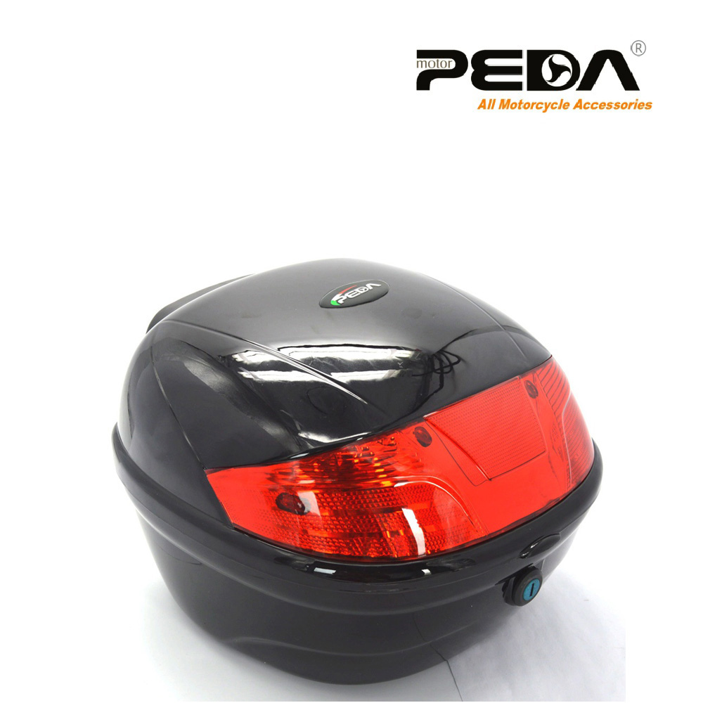 PEDA NEW Rear Box Top Case Luggage For Scooter 25KM Moped Electric Bike Bicycle Motorbike