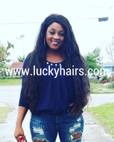 Alibaba express charming curly raw indian temple hair, top quality 100% pure virgin indian remy