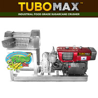 TUBO MAX HIGH CAPACITY FOOD GRADE SUGARCANE CRUSHER MACHINE