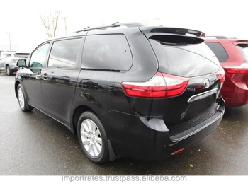Export/Import Ready 2017 Toyota Sienna Limited