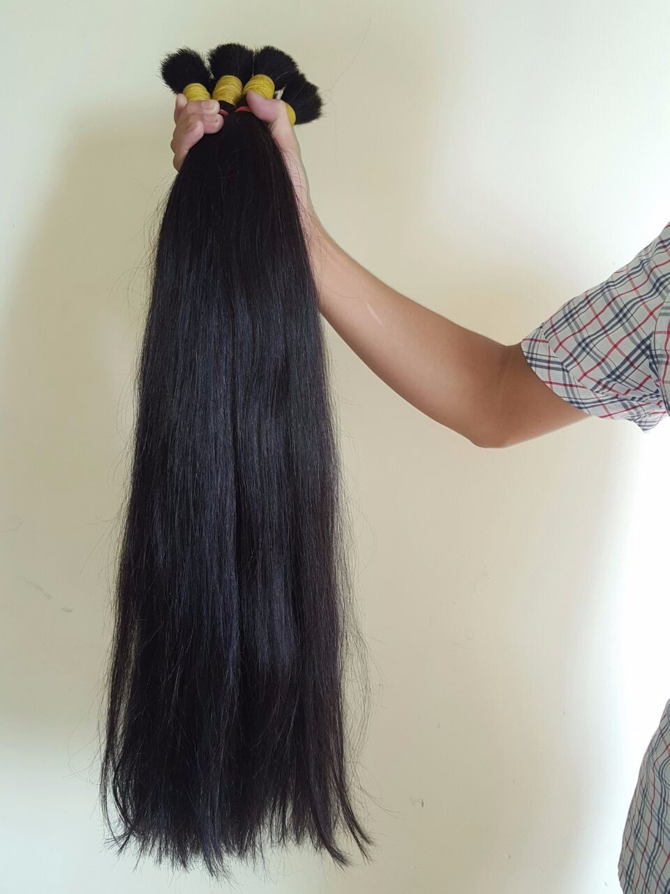 Brazilian Bulk hair for wig making in hair extension