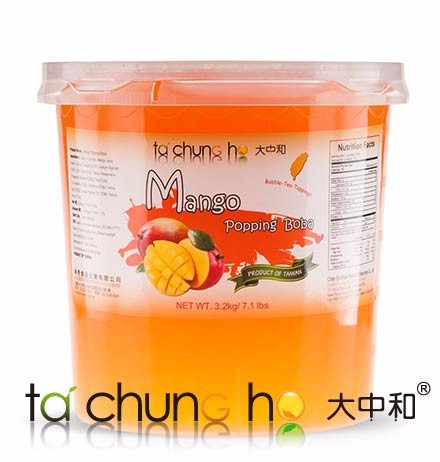 Best Selling Wholesale Taiwan 3kg TachunGho Mango Popping Boba