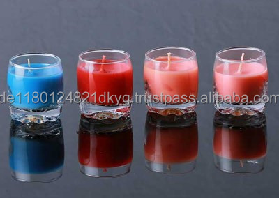 Wedding Paraffin Scented Wax Candles From China