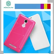 Xiaomi redmi Note 3 case cover NILLKIN Sparkle super thin leather case flip cover for Xiaomi redmi Note 3 with Retailed Package
