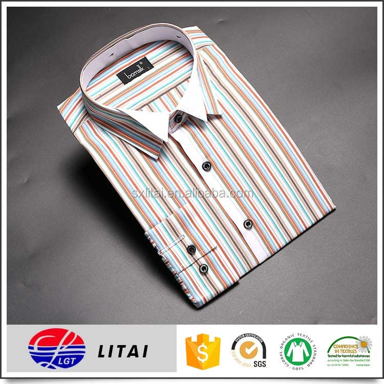 OEM services new designs bamboo fabric for men's casual shirts