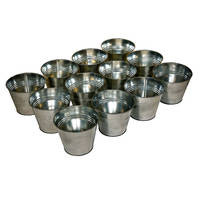 low price wholesale metal material handmade planters and pots