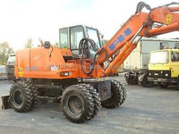 USED MACHINERIES - HITACHI FH 120 W WHEEL EXCAVATOR (4685)
