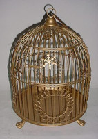 IRON WIRE BIRD BEADING CAGE