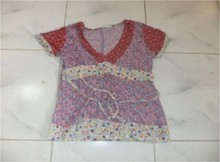new clothes style, fashionable woman's top, in stock items, SOUND V-NECK H/ALV