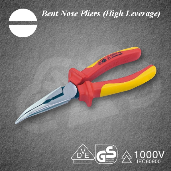 High-performance and Safe Bent Nose Pliers(High Leverage) Insulated tool at reasonable prices