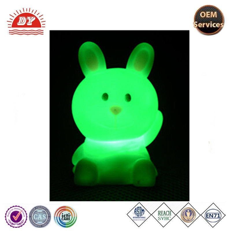 LED flashing led light up toys with mushroom shape