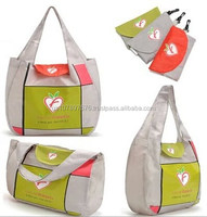 420D oxford folding shopping bag