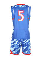 Healong Dye Sublimation basketball training equipment sublimated boys basketball shirt