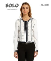 Woman Linton white stripes Jacket