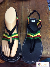 Dobbytex DBTS14 Jamaica Twist Handmade rope Sandals/Shoes Hill tribe / Hmong / Summer / African