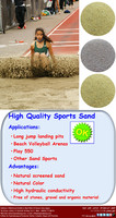 Silica Sand for Sport Surfaces of all kind and purpose