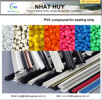 PVC compound for sealing strip, gasket, soft profile (factory price)