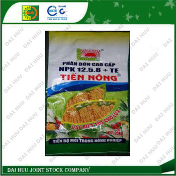 Colorful Laminated PP Woven Sack for Fertilizer