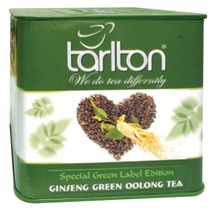 Ginseng Green Oolong Tea