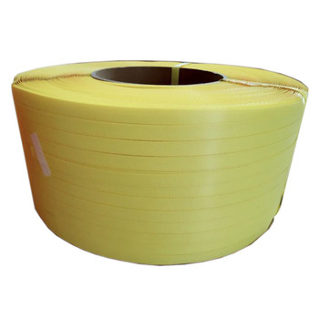PP Strapping band - yellow - 12 mm