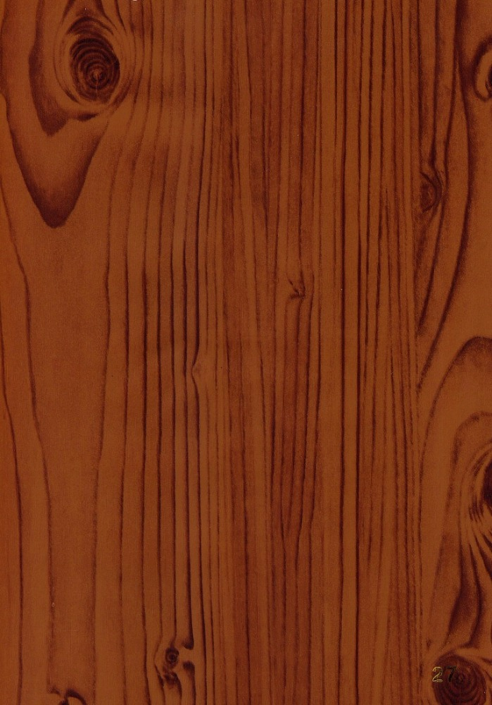 PVC wood grain overlay sheet for edging, doors, windows and etc.
