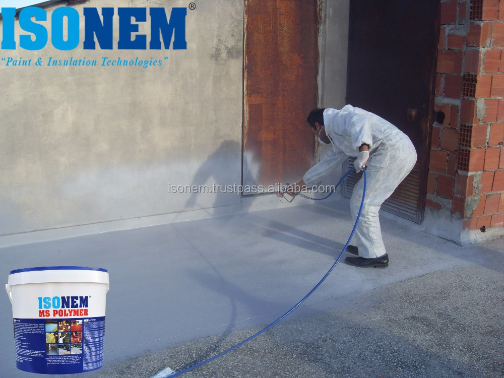 WATERPROOFING MEMBRANE FOR ROOF INSULATION, LIQUID APPLIED, ONE COMPONENT