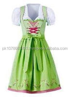 Ripe 2016 High Quality Cotton Check Bavarian Dirndls, German Dirndl Dresses for Girls, Dirndl Costume for 2014 Oktoberfest