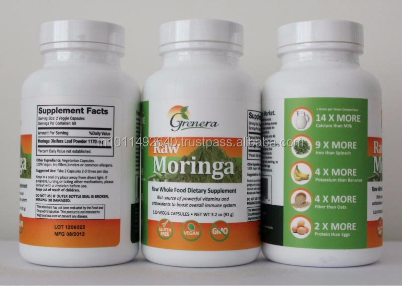 Botanical Herbal Supplements Capsules
