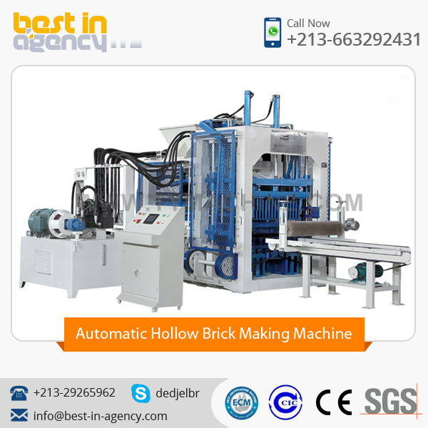 Fully Automatic Block Making Machine with High Grade Functioning
