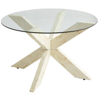 High quality best selling Mother-of-Pearl Coffee glass Top Table from Vietnam