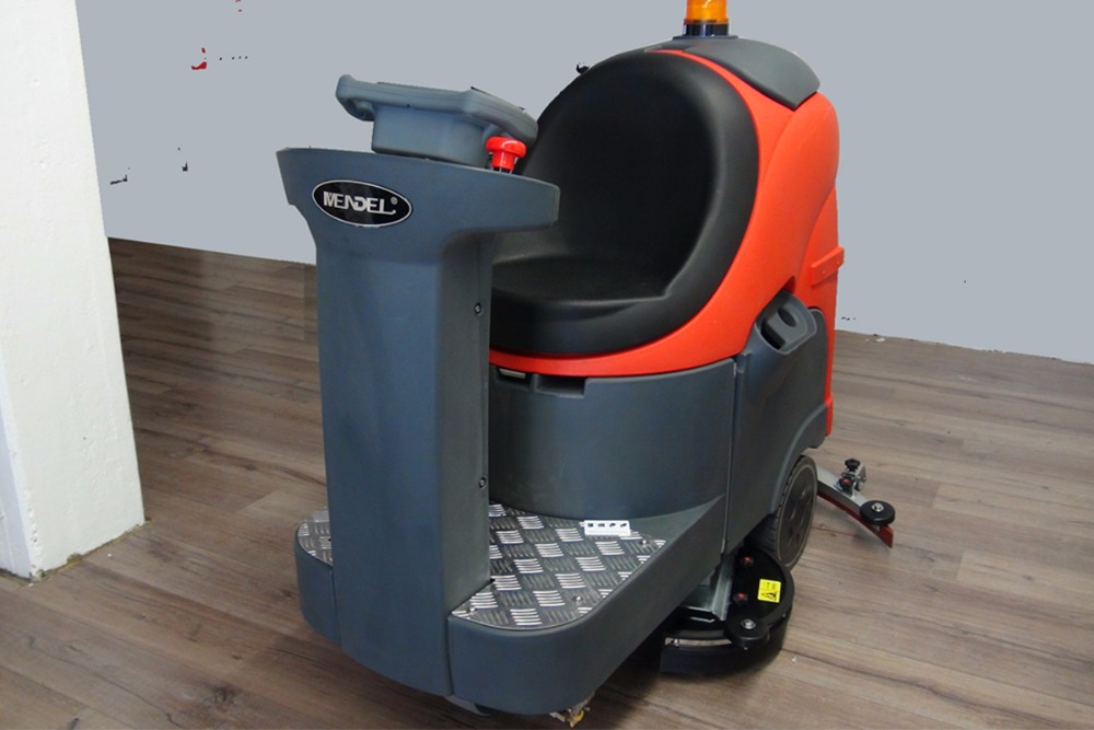 MBD860H Driving Floor Scrubbing Machine Industrial Floor Washing Cleaning Machine