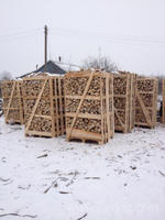 Firewood in pallet 120x80x200 brennholz
