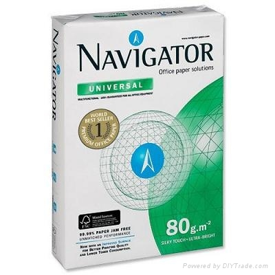 A3, A4 and A5 COPY PAPER / 70 75 80 GSM NAVIGATOR A4 COPY PAPER