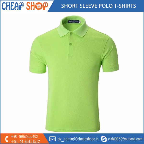 Wide Array of 100% Cotton Men Polo T Shirt at Low Price