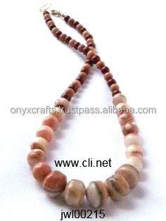 Onyx Red Bead Necklaces in Wholesale Price