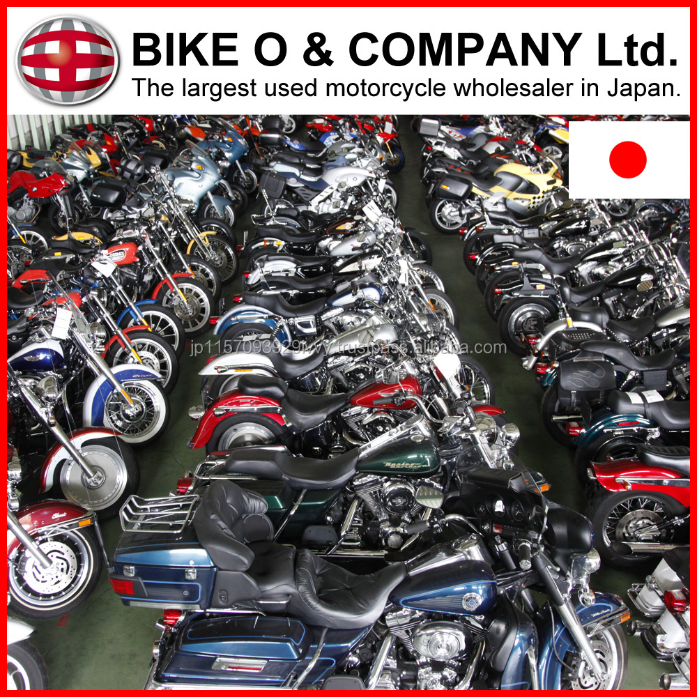 Rich stock 1000cc bikes with Good condition for importers