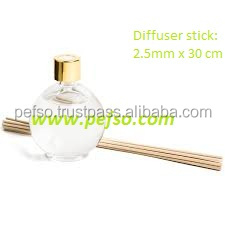 home fragrance Reed diffuser with rattan sticks
