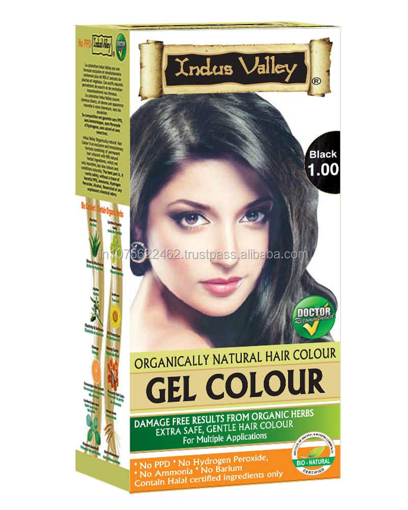 Indus valley permanent Hair Colour without PPD, Ammonia & hydrogen peroxide