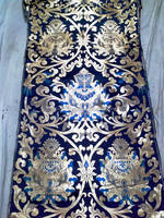 High Quality Brocade fabrics for making dress and VESTMENT 4710-1
