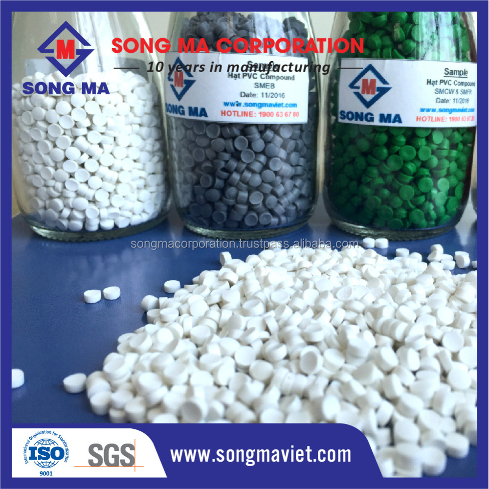 Best quality Soft PVC granules / PVC resin / PVC compound plastic raw material