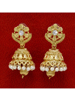 Indian Women Traditional Ethnic Jhumka Earring Set Bollywood Wedding Jewelry BSE6585A