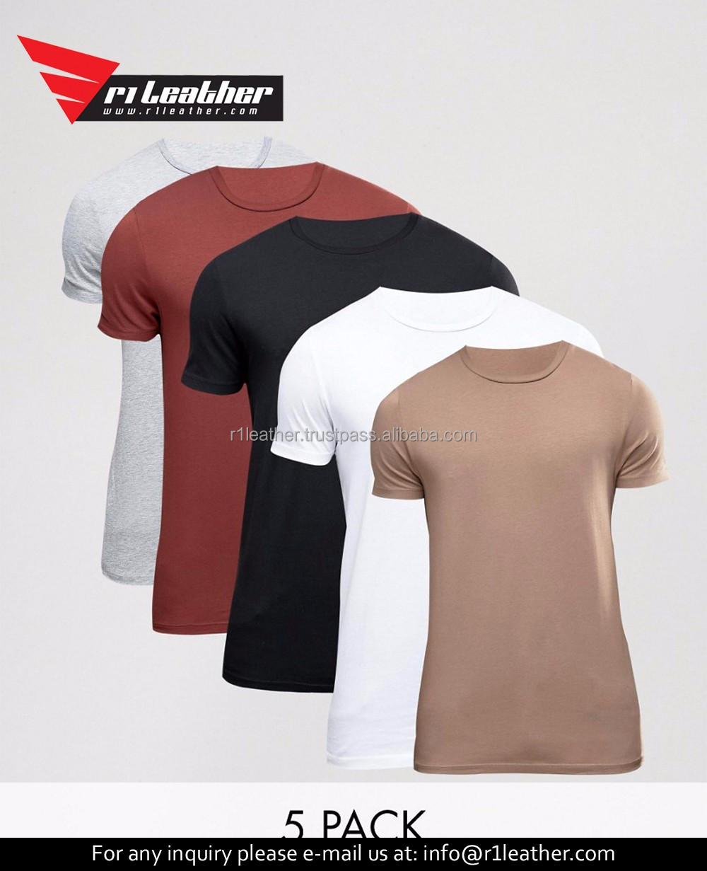 Hot Sale Round Neck Long Sleeve Tshirt Men T Shirts