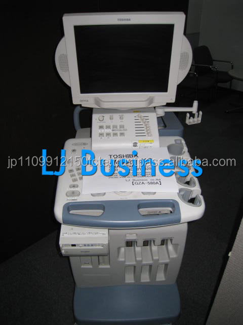 High quality secondhand TOSHIBA portable ultrasound scanner price from Japanese supplier