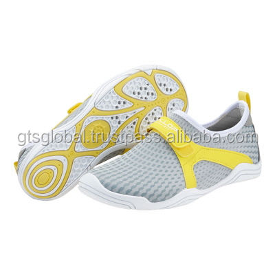 Water hole, Anti slip Water sports Shoes, Aqua Shoes, Water Shoes---Ballop Typhoon Gray