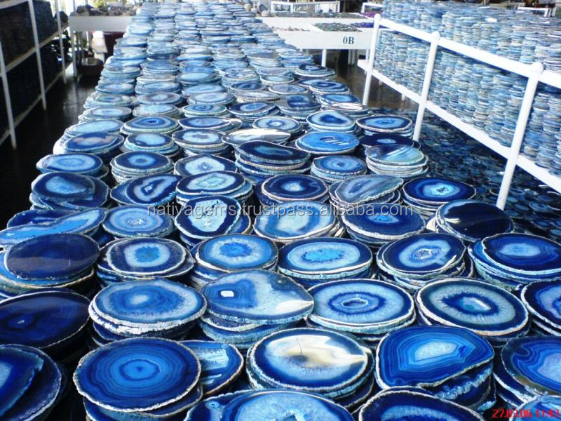 THE BEST QUALITY OF AGATE SLICE WHOLESALE
